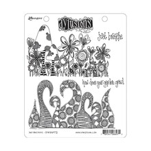 Ranger Dylusions Just Breath Cling Stamps (DYR66972)