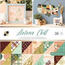 DCWV Autumn Chill 12x12 Inch Premium Stack (615112)