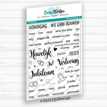 CarlijnDesign Clear Stamps Huwelijk (CDST0024)