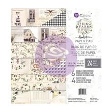 Prima Marketing Inc Spring Farmhouse 12x12 Inch Paper Pad (994853)