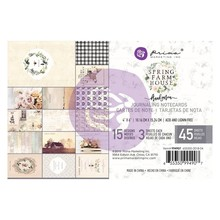 Prima Marketing Inc Spring Farmhouse 4x6 Inch Journaling Cards (994907)