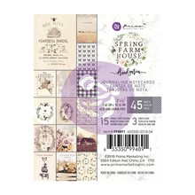 Prima Marketing Inc Spring Farmhouse 3x4 Inch Journaling Cards (994891)
