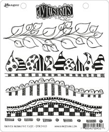Ranger Dylusions Further Around The Edge Cling Stamps (DYR34513)