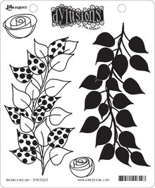 Ranger Dylusions Branching Out Cling Stamps (DYR51213)
