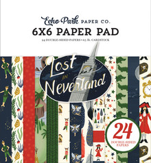 Echo Park Lost in Neverland 6x6 Inch Paper Pad (LIN179023)