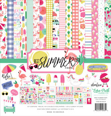 Echo Park Best Summer Ever 12x12 Inch Collection Kit (BS182016)