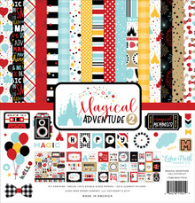 Echo Park Magical Adventure 2 12x12 Inch Collection Kit (MAG177016)