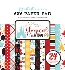 Echo Park Magical Adventure 2 6x6 Inch Paper Pad (MAG177023)