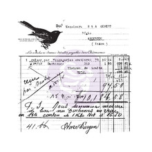 Prima Marketing Inc Finnabair Old Receipt Clear Stamp (966980)