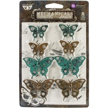 Prima Marketing Inc Finnabair Mechanicals Scrapyard Butterflies (967147)