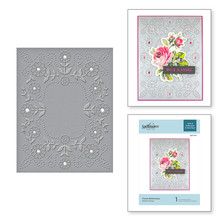 Spellbinders Floral Reflections Cut & Embossing Folder (CEF-013)