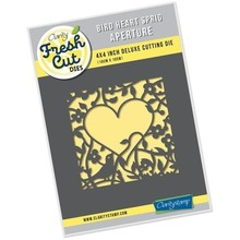 Claritystamp Fresh Cut Bird Heart Sprig Aperture Die (ACC-DI-30730-44)