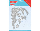 Yvonne Creations Bubbly Girls Flower Corner Die (YCD10167)