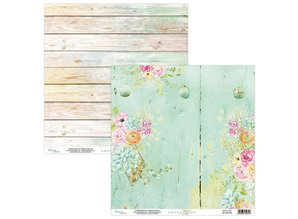 Mintay Lovely Day 12x12 Inch Scrapbooking Paper Set (MT-LOV-07)