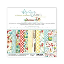 Mintay Farmlife 6x6 Inch Scrapbooking Paper Pad (MT-FAR-08)
