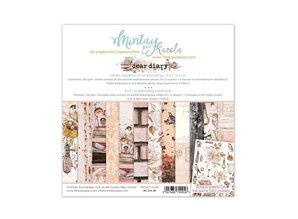 Mintay Dear Diary 6x6 Inch Scrapbooking Paper Pad (MT-DIA-08)
