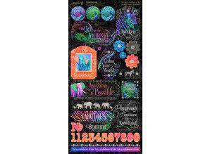 Graphic 45 Kaleidoscope Stickers (4501860)