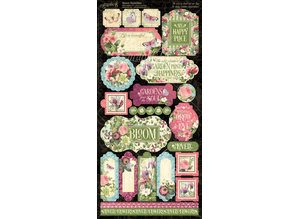 Graphic 45 Bloom Stickers (4501875)