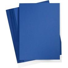 Paperpads.nl SELECT Basis Karton A4 Middernachtblauw (100 Vellen)
