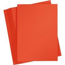 Paperpads.nl SELECT Basis Karton A4 Helderrood (100 Vellen)