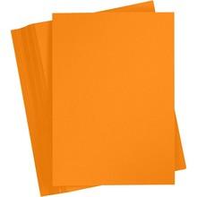 Paperpads.nl SELECT Basis Karton A4 Mandarijn (100 Vellen)