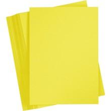 Paperpads.nl SELECT Basis Karton A4 Oranje Geel (100 Vellen)