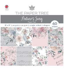 The Paper Boutique Nature's Song 8x8 Inch Paper Pad (PTC1045)