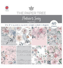 The Paper Boutique Nature's Song 6x6 Inch Paper Pad (PTC1044)