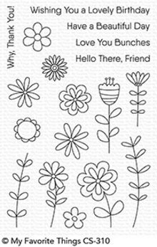 My Favorite Things Love Buds Clear Stamps (CS-310)
