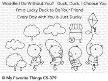 My Favorite Things Just Ducky Clear Stamps (CS-379)