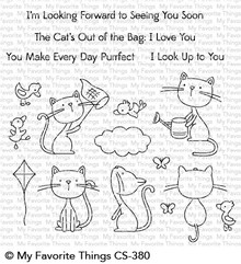 My Favorite Things Purrfect Friends Clear Stamps (CS-380)