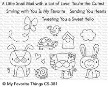 My Favorite Things Cute Critters Clear Stamps (CS-381)