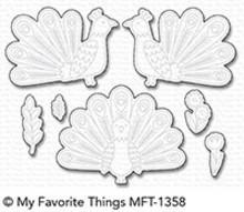 My Favorite Things Die-Namics Playful Peacock (MFT-1358)