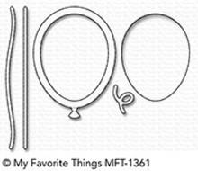 My Favorite Things Die-Namics Mini Balloon Shaker Window & Frame (MFT-1361)