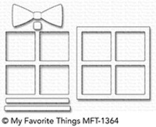 My Favorite Things Die-Namics Gift Shaker Window & Frame (MFT-1364)