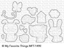 My Favorite Things Die-Namics Cute Critters (MFT-1490)