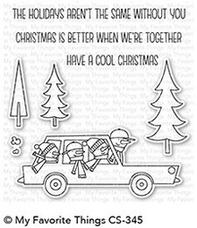My Favorite Things Cool Christmas Clear Stamps (CS-345)