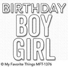 My Favorite Things Die-Namics Birthday Boy & Girl (MFT-1376)