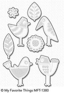 My Favorite Things Die-Namics Mod Birds (MFT-1380)