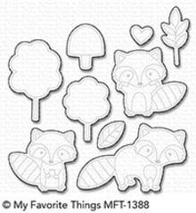 My Favorite Things Die-Namics Friendly Raccoons (MFT-1388)