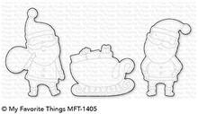 My Favorite Things Die-Namics Sassy Santa (MFT-1405)