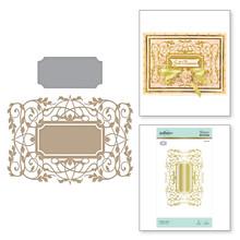 Spellbinders Vintage Frame (Gilded Vines) Hot Foil Plate (GLP-118)