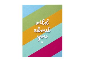 Spellbinders Snijmal Wild About You (S3-373)