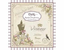 Dayka Vintage 8x8 Inch Paper Pad (SCP-1005)