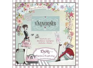 Dayka Vacaciones 8x8 Inch Paper Pad (SCP-1010)