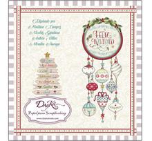 Dayka Feliz Navidad 8x8 Inch Paper Pad (SCP-1021)