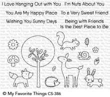 My Favorite Things Sweet Spring Friends Clear Stamps (CS-386)