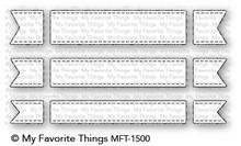 My Favorite Things Die-Namics Fishtail Flag Trio (MFT-1500)