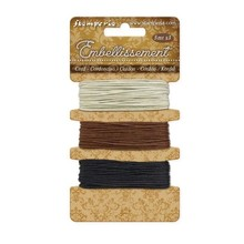 Stamperia Cord Ivory, Brown, Black (SBA384)