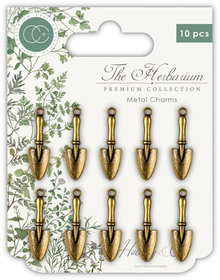 Craft Consortium The Herbarium Trowels Charms (CCMCHRM005)